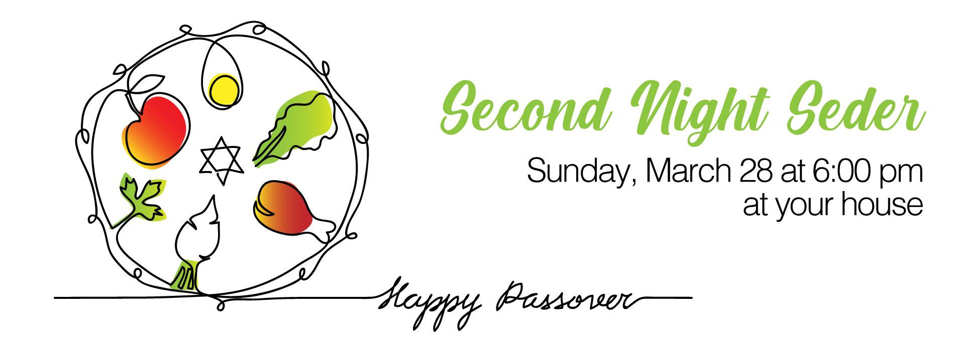 Seder page header